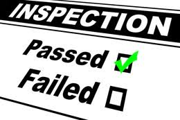 Insurance Contractors Building Inspection Passed