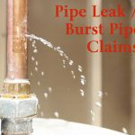 Pipe Breaks Property Claims
