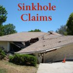 Pipe Breaks sinkhole