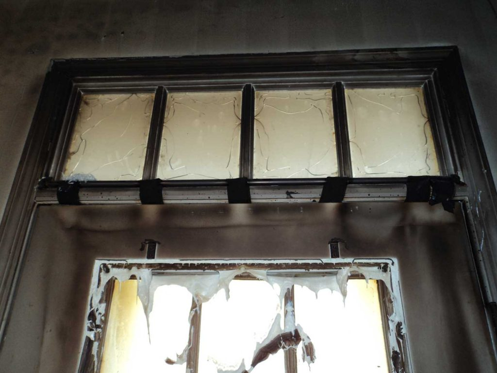 Glass-and-Window-fire Damages