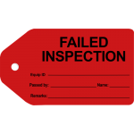 Insurance Contractors Inspection Failed Inspection